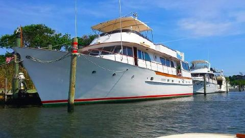 1973 Broward Pilothouse Motor Yacht