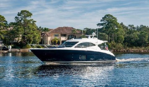 2012 Maritimo C50 Sport Cruiser Degrasse III Profile