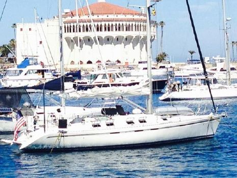1992 Beneteau First 45f5 Docked in Catalina