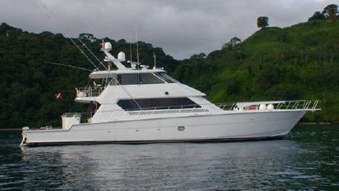 2003 Hatteras Enclosed Flybridge