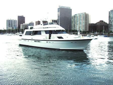 1989 Hatteras Cockpit Motor Yacht main photo