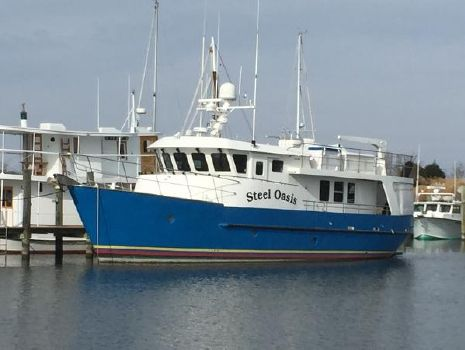 1999 Cape Horn CH63 63' Cape Horn CH63 Trawler STEEL OASIS