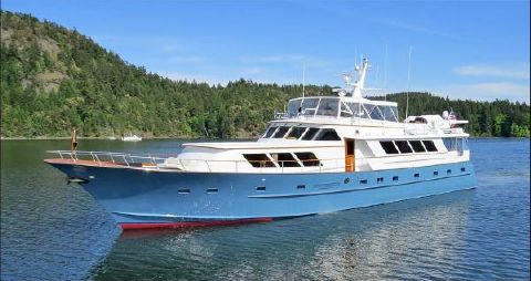 1982 Broward Raised Pilothouse Motor Yacht