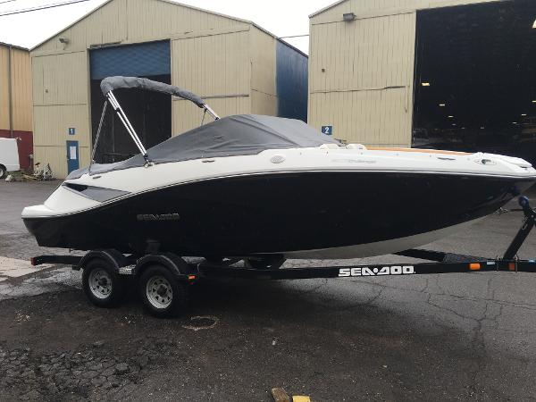 Check out this 2010 SEA DOO 2010 Challenger WAKE on Boattrader com