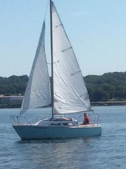 1976 O'Day 22' Sloop
