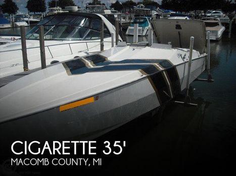 1988 CIGARETTE 35 CAFE RACER