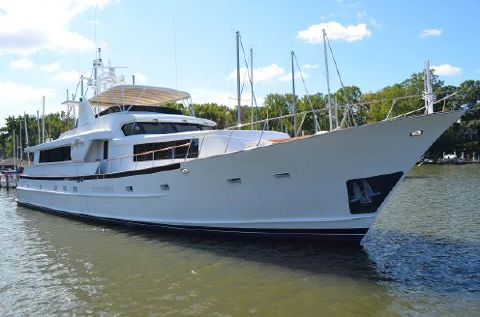 1984 Broward Raised Pilothouse 1984 Broward Raised Pilothouse MY - Main