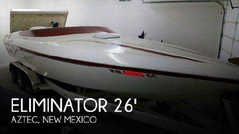 2001 Eliminator Boats 260 Eagle XP Closed Bow 2001 Eliminator 260 Eagle XP Closed Bow for sale in Aztec, NM