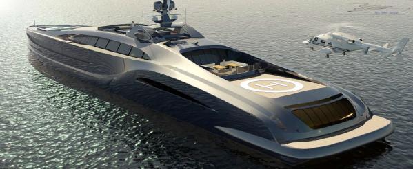 2015 Custom Giga Yacht Sovereign