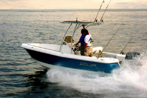2008 Polar Boats 1900 Center Console Manufacturer Provided Image