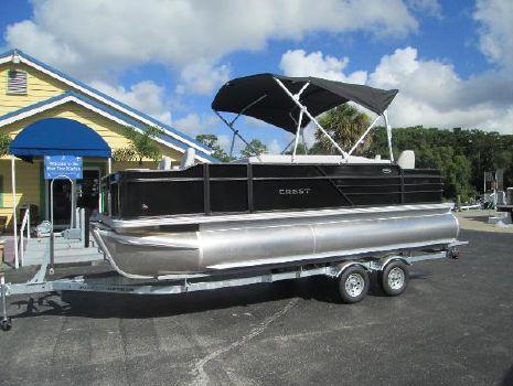 2018 Crest Pontoon Boats I 200 Fish C4