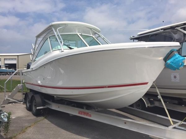 Check out this 2020 ALBEMARLE 27 Dual console on Boattrader com