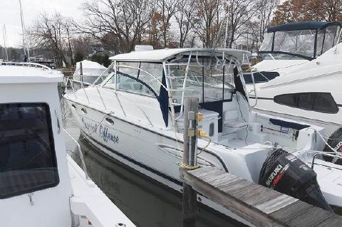 2005 Glacier Bay 3470 Ocean Runner Port Profile
