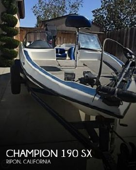 2000 Champion Boats 190 Sx 2000 Champion 190 SX for sale in Ripon, CA
