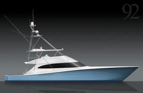 2017 Viking 92 Convertible Profile - Convertible