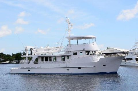 2002 Cape Horn Trawler Profile