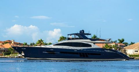 2012 Lazzara Motor Yacht Flybridge Profile
