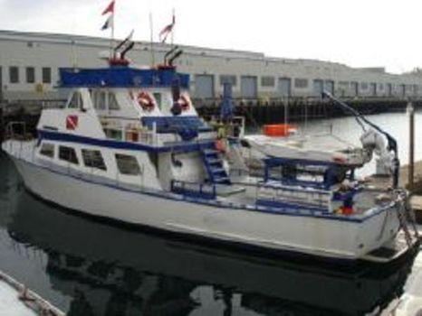 1969 Blackman Boats Dive vessel port side