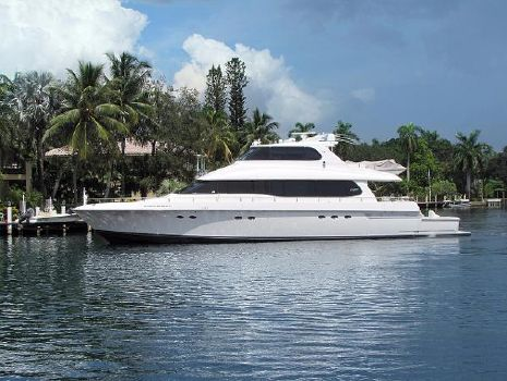 1997 Lazzara Skylounge 80' Lazzara Motor Yacht DIFFERENT DRUMMER II