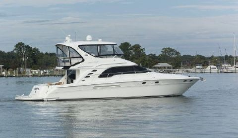 2003 Sea Ray 560 Sedan Bridge