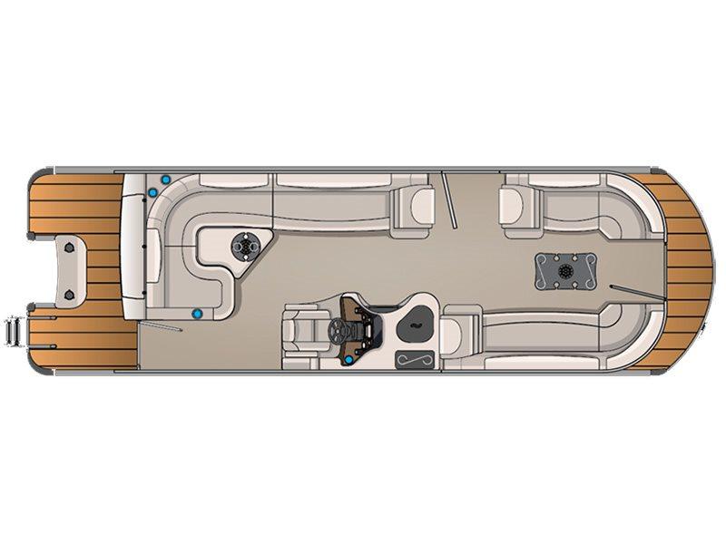 2016 Avalon Ambassador Rear J Lounge - 27 ft. Length Class