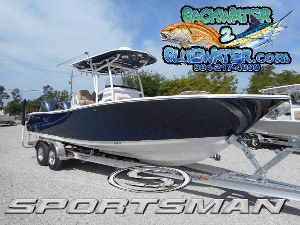 2017 Sportsman Open 282 Center Console