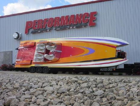 2013 Skater 46 Custom Race Boat