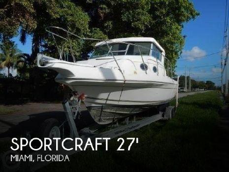 2000 Sportcraft 272 Sportfish 2000 Sportcraft 272 Sportfish for sale in Miami, FL