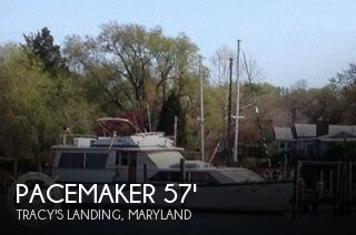 1978 Pacemaker 57 Motoryacht 1978 Pacemaker 57 Motoryacht for sale in Tracy's Landing, MD