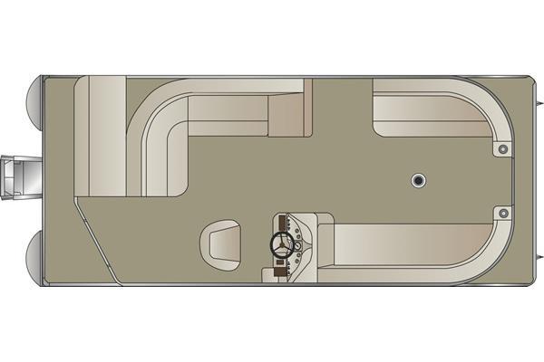 2013 Crest Pontoon Boats Wave V200 Manufacturer Provided Image