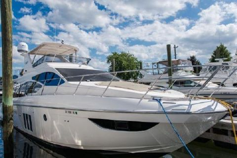 2011 Azimut 53 Fly Starboard Side Bow