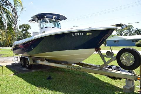 2007 Everglades Boats 260 Cc Complete with Trailer