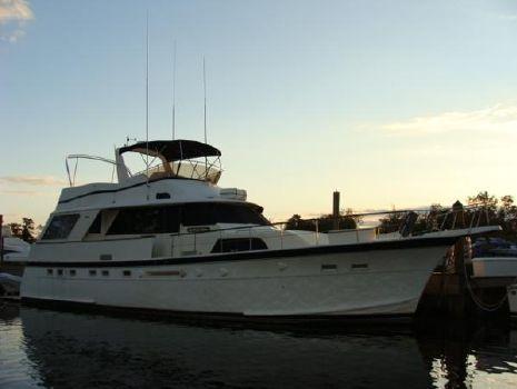 1983 Hatteras Classic Motor Yacht Profile