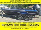 2016 SKEETER WX-1910