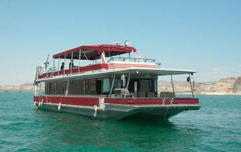 1990 Stardust Houseboat