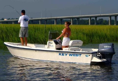 2001 Key West 1720 Center Console Manufacturer Provided Image
