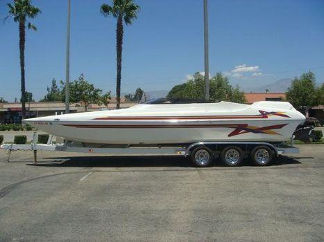 2000 Hallett Boats 270 Cat