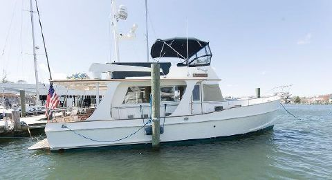 2002 Grand Banks 42 Europa Starboard Side