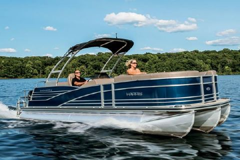 2016 Harris Grand Mariner SL 250 DLDH - TRITOON Manufacturer Provided Image