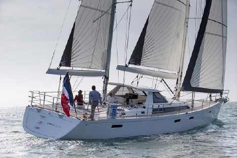2017 Amel 64 Manufacturer Provided Image: Amel 64 Sailing