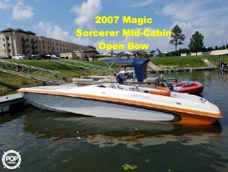 2007 Magic Sorcerer Mid Cabin Open Bow 2007 Magic Sorcerer Mid Cabin Open Bow for sale in Peoria, AZ
