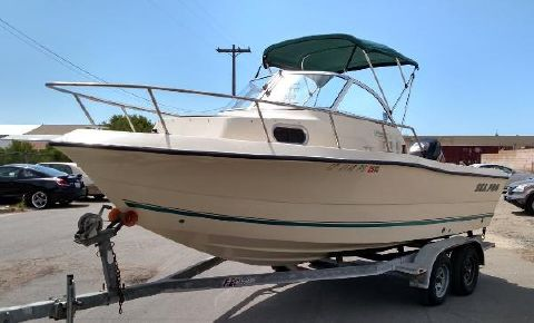2000 SEA-PRO 210 Walk Around