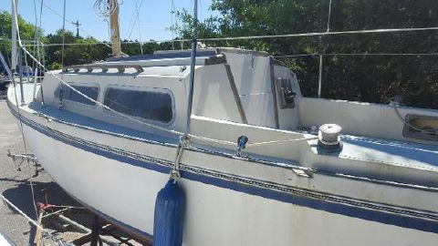 1976 Helms 25 Swing Keel