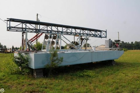 2009 Custom-craft 30 Work Barge 2009 Custom 30 Work Barge for sale in West Point, VA