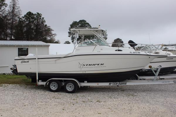 2000 seaswirl striper 2600 limited edition 26 foot 2000 for Used boat motors panama city fl