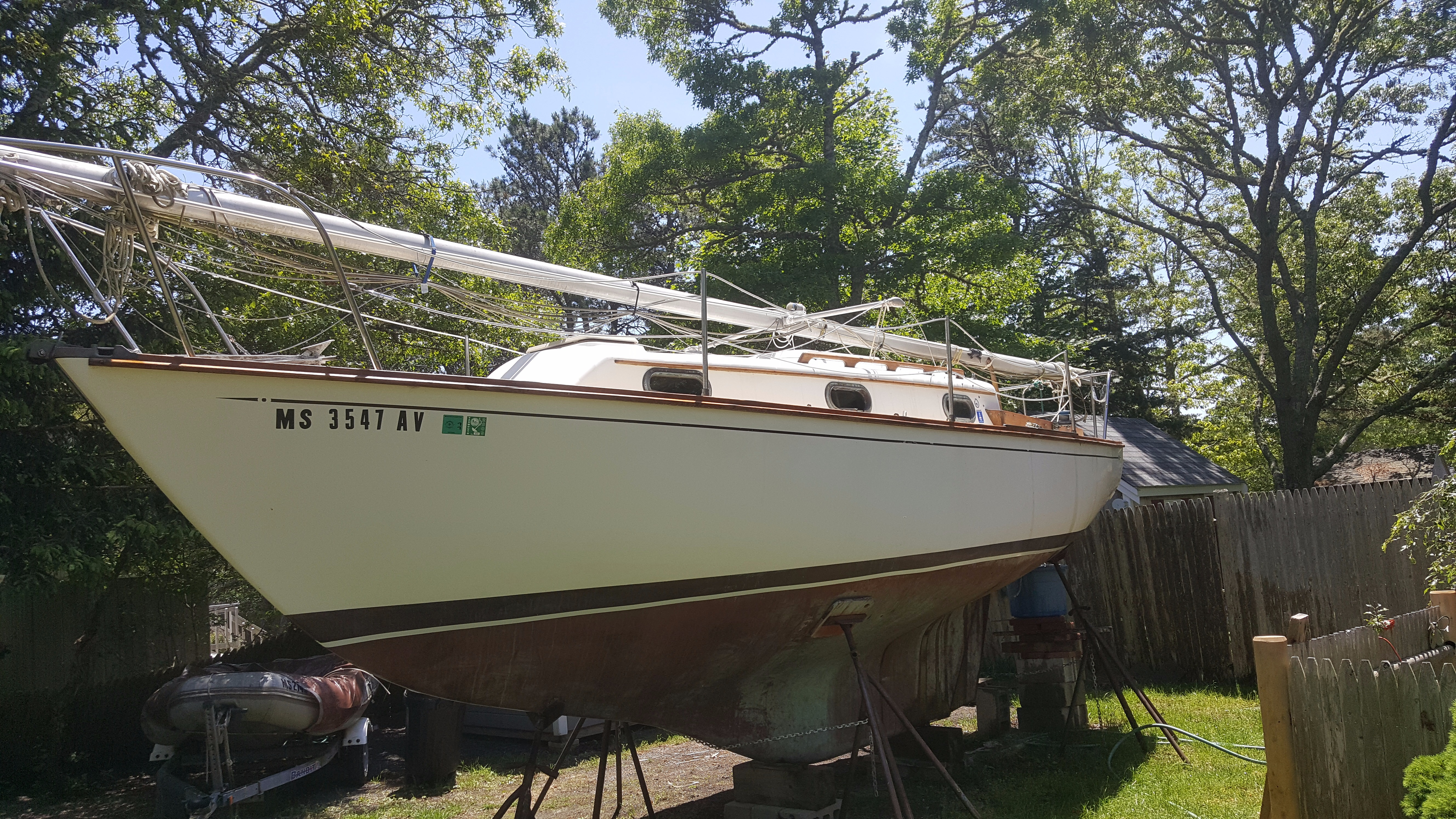 Used 1974 C&C YACHTS 25 Sailboat, Salt Lake City, Ut - 84115