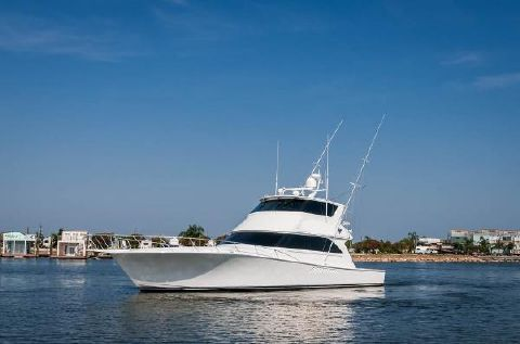 2004 Viking 65 Convertible Port Profile