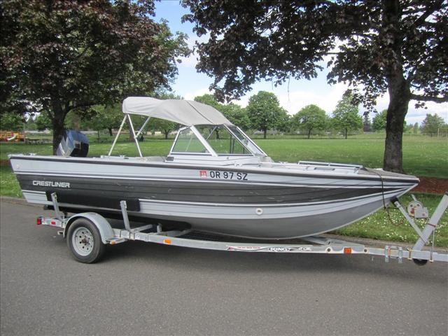 """Crestliner"" boat listings in OR"