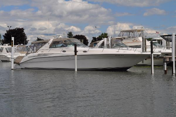 1996 Sea Ray 450 Sundancer (3126 420-hp CAT's!)
