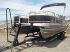 2014 SUN TRACKER 22 Fishing Barge